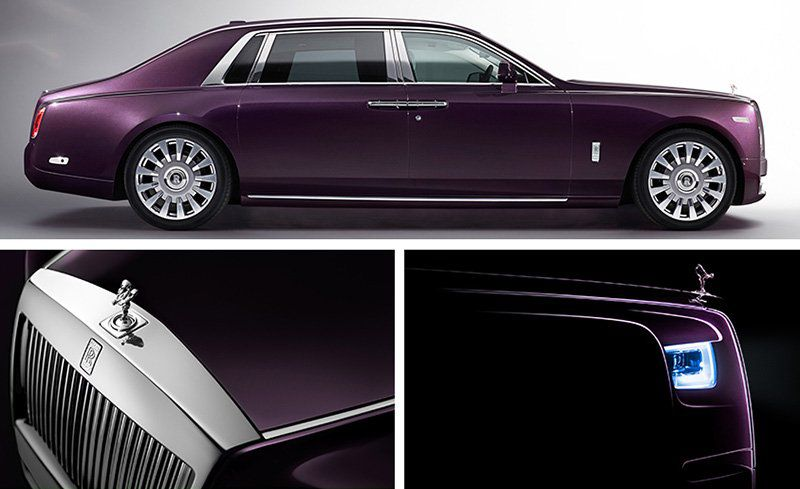 Launched in India: 8th Generation Rolls-Royce Phantom 2018
