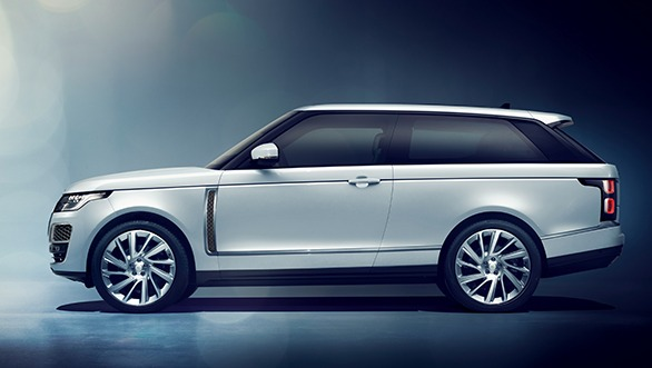 Range Rover SV Coupe at the Geneva Motor Show