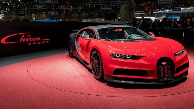 Geneva Motor Show 2018: Bugatti Chiron Sport